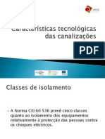 Classes de Isolamento