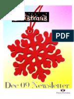 True Fitness Dec 09 Newsletter