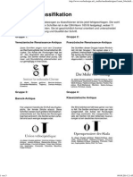 Schriften-Klassifikation Teil 1