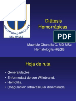 Diátesis Hemorrágicas