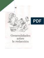 Redacción-Generalidades