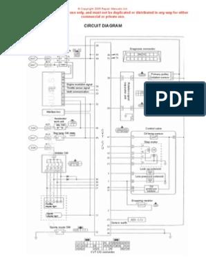 nissan cvt wiring diagram throttle electrical components Nissan Electrical Diagrams