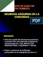 Neumonia en La Comunidad