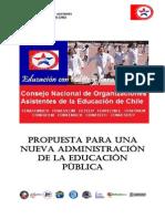 Propuesta Consejo Nacional Asistentes de La Educación Para La Educacion Publica. (3)