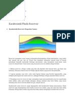 Karakteristik Fluida Reservoir