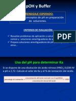 18) pH, pOH y buffer