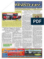 The Village Reporter - October 1st, 2014
