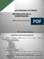 4.1diseño de Investigacion