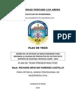 Plan de Tesis Huachac
