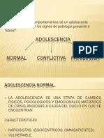 Adolescencia conflictiva1