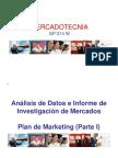 Sesión XII - Análisis de Datos e Informe de Investigación - Plan de Marketing (Parte I)