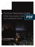 Event Webcasting Toolkit