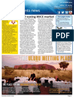 Business Events News for Wed 01 Oct 2014 - P&O eyeing MICE market, NT roadshow's new name, Jones identity crisis, Partner Up debut, and much more