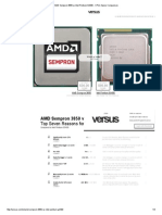 AMD Sempron 3850 vs Intel Pentium G3430 - CPUs Specs Comparison