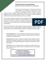 Reseña. Coloquio Movimientos Sociales en Latinoamerica