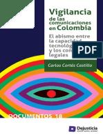 Vigilancia de las comunicaciones en Colombia