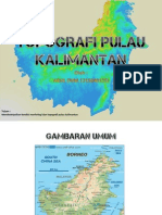 Topografi Pulau Kalimantan