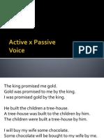 Active x Passive