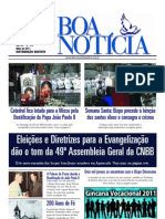 Jornal a Boa Notícia - Maio 2011