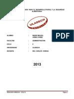 Administracion II - Trabajo de Aprendizaje