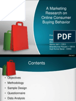 Online Buying Behaviour-Market Research