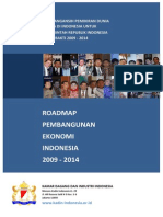 Roadmap Pembangunan Ekonomi Indonesia 2014-2019 (KADIN)