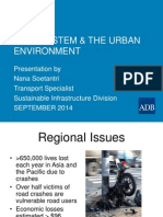 ADBTF14_URS Safe Systems Approach Applied in the Urban Context