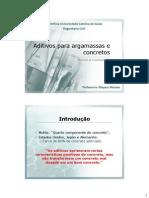 8. Aditivos Químicos Para Concreto