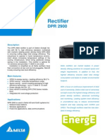Fact Sheet DPR2900 Rectifier