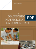 Diagnostico Nut. en Comunidad
