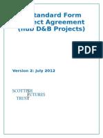 Standard Form DBDA July 2012