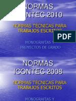 NORMAS ICONTEC 2010