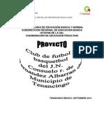 Proyecto Clubes 2014 Consuelo