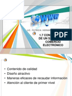 Unidad i Mercadotecnia Electronica.parte 7 y 8