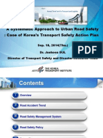 ADBTF14_URS Korea's Transport Safety Action Plan