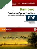 Bamboo Entrepreneurship Presentation 1