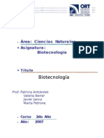 I Biotecnología 07