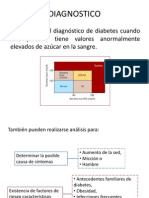 Diagnostico y Tratamiendo Diabetes