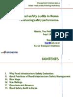 ADBTF14_URS Urban Road Safety Audits in Korea