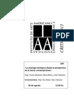 Analogía Biológica Arqitectura
