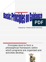 Basic Principles on Guidance (and Counseling)