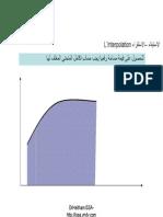 ShipStability Interpolation