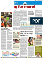 Bangalore's Impending Water Crisis Deccan Herald 02 January, 2011
