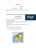 Plan Diario Geografía