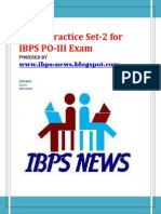 IBPS PO Sample 2- Www.ibps-NEWS.blogspot.com
