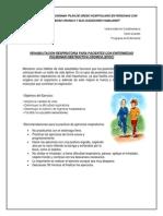 Instructivo Rehabilitación Respiratoria Epoc