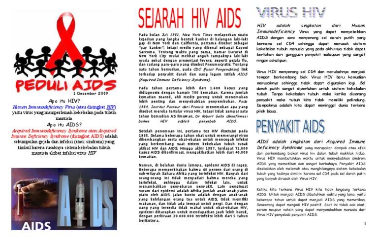 Brosur Depan Aids Recover