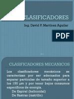 Clasificadores - Tipos de Hidrociclon