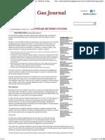 Fundamentals of Gas Pipeline Metering Stations _ Pipeline & Gas Journal