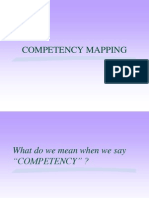 Competencies Mapping -R